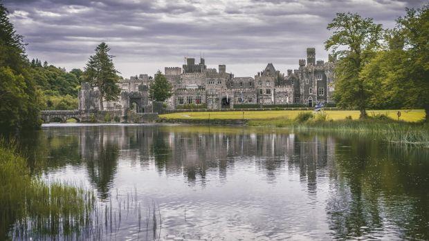 Ashford Castle in Co Mayo.