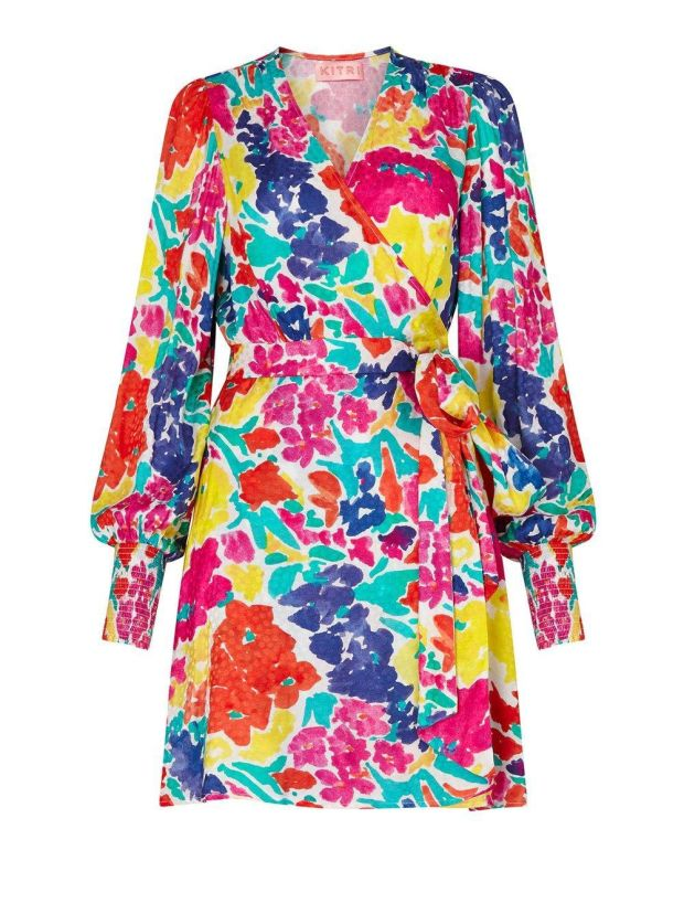 Print dress, €170, Kitri Studio.