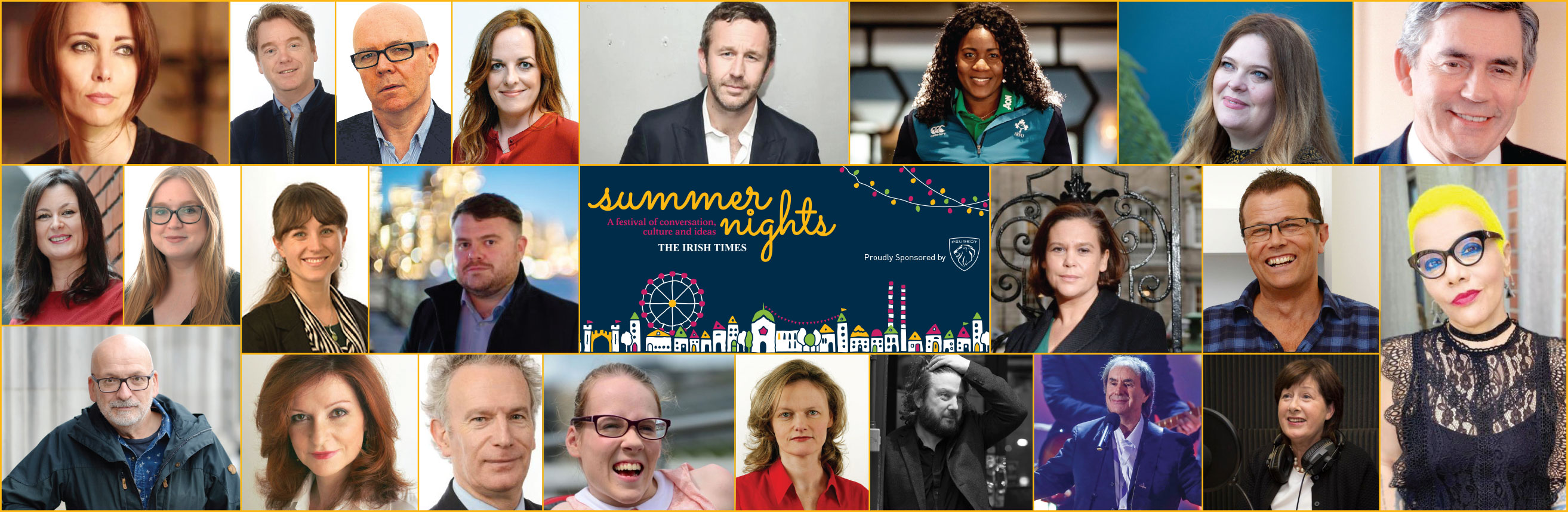 Summer Nights Festival hosts and guests