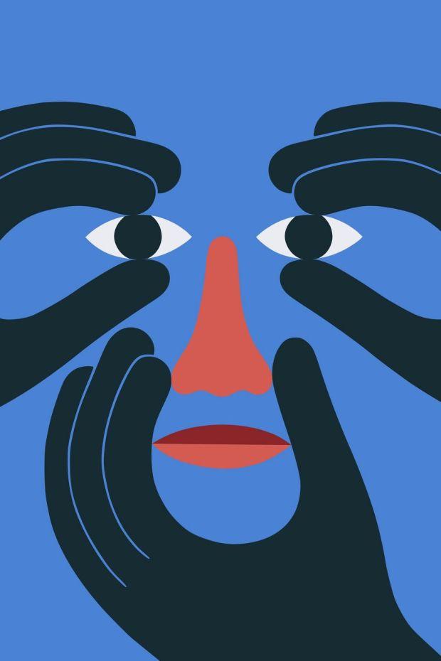 Hold Face by David Vanadia, at Hen's Teeth