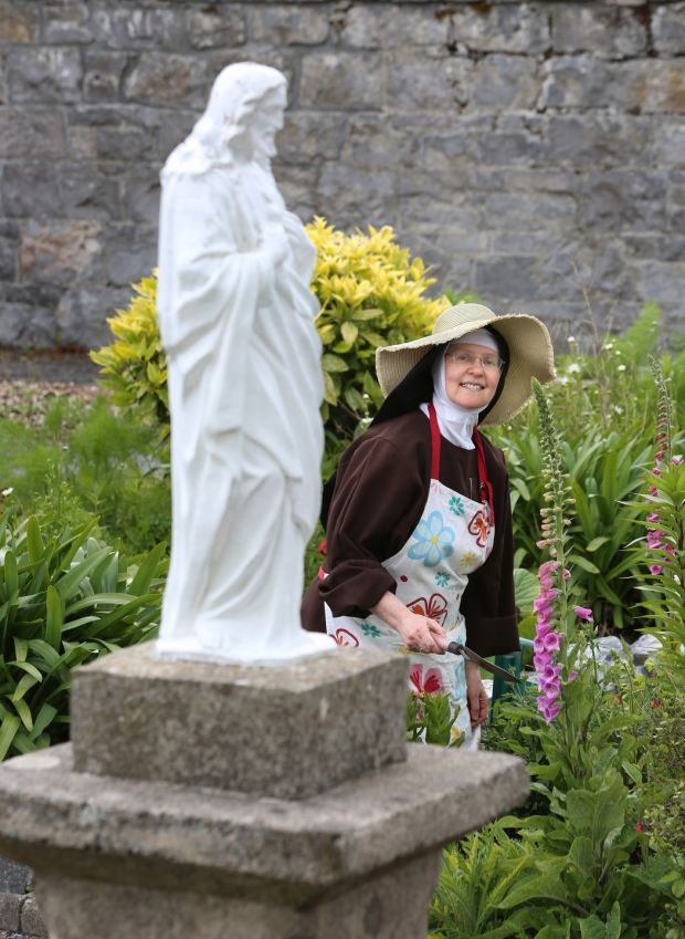 Sr Colette, mother abbess at Poor Clare Monastery, Galway. Photograph: Joe O'Shaughnessy