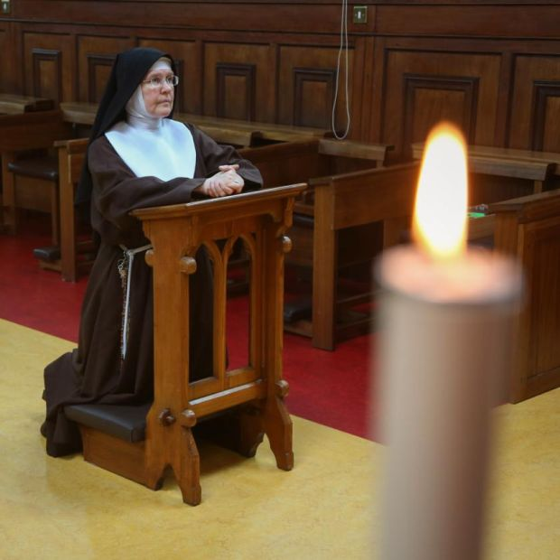 Sr Colette, mother abbess at the Poor Clare Monastery, Galway. Photograph: Joe O'Shaughnessy