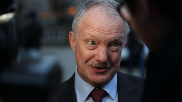 Fianna Fáil foreign affairs spokesman Seán Haughey became the 'sponsor' of Ashurak as a political prisoner. Photograph Nick Bradshaw