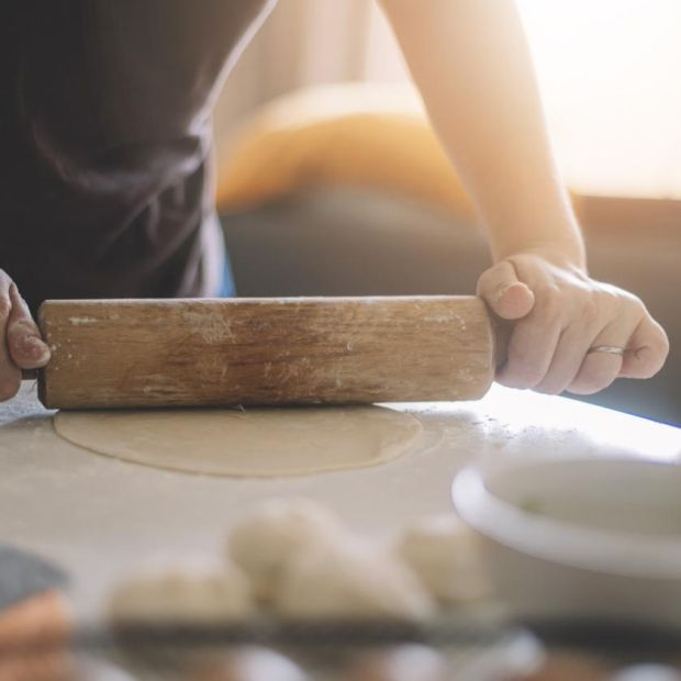 Pasta machine? I raise you a rolling pin. Photograph: iStock