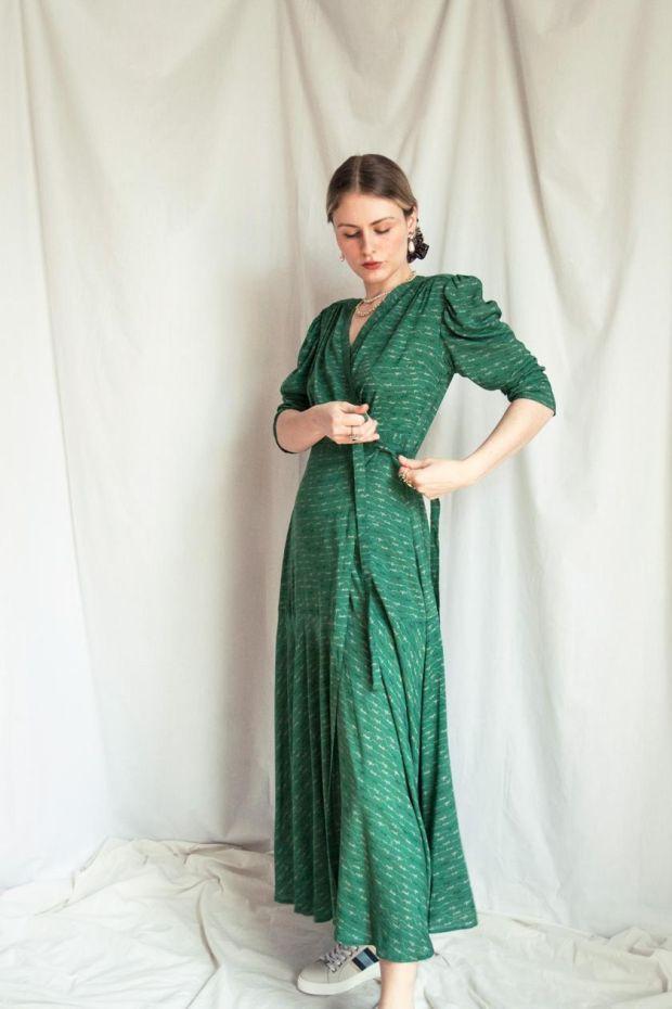 Hope emerald dress € 238 aforeafter.com