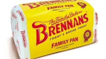Brennan's bread tops the list of favourite brands in Ireland.