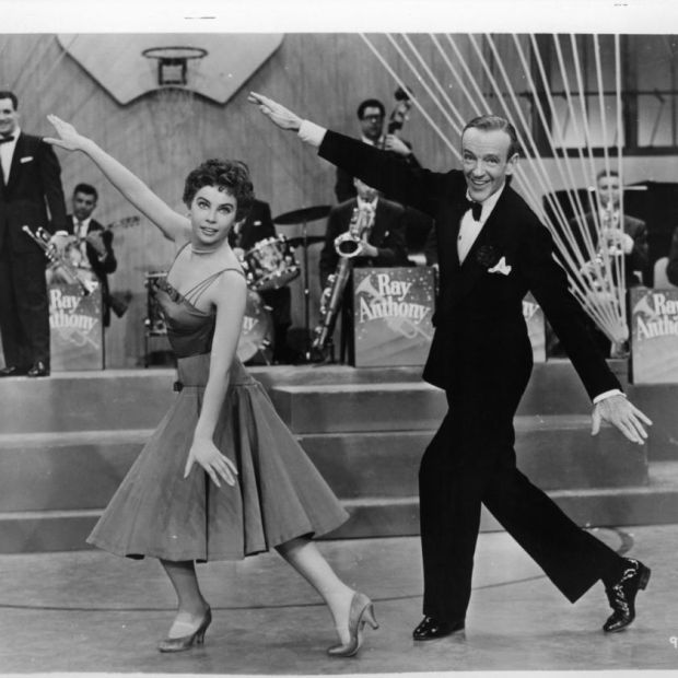 Fred Astaire and Caron in 1955's Daddy Long Legs. Photograph: 20th Century Fox/Getty