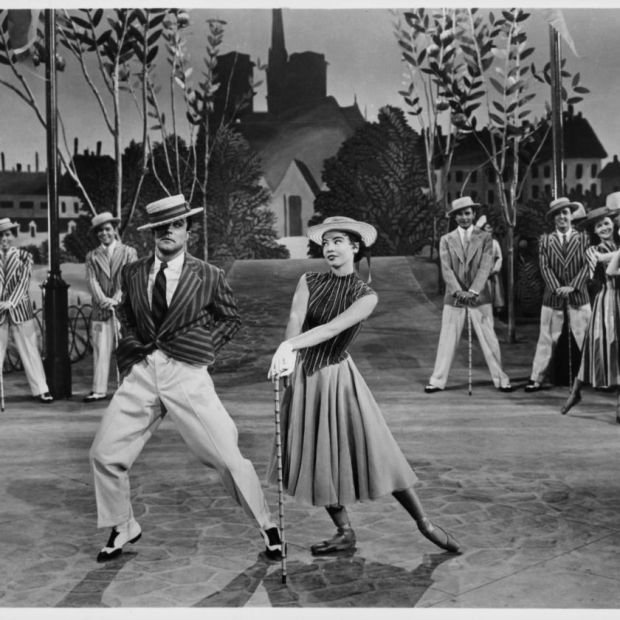 Caron with Gene Kelly in 1951's An American in Paris. Photograph: MGM/Getty