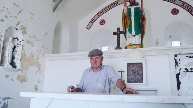 John Cummins Murrisk, caretaker of the reek. Photograph: Conor McKeown
