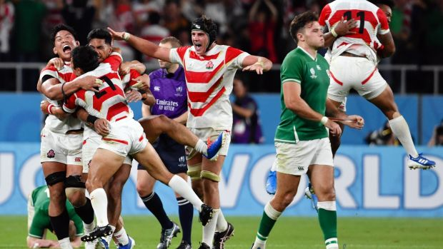 Robbie Deans on Japan's Rugby World Cup victory over Ireland: