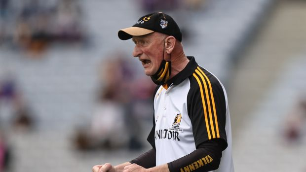 Kilkenny Manager Brian Cody reacts during their match against Dublin in the Leinster semi-final at Croke Park. Photograph: Tommy Dickson/Inpho