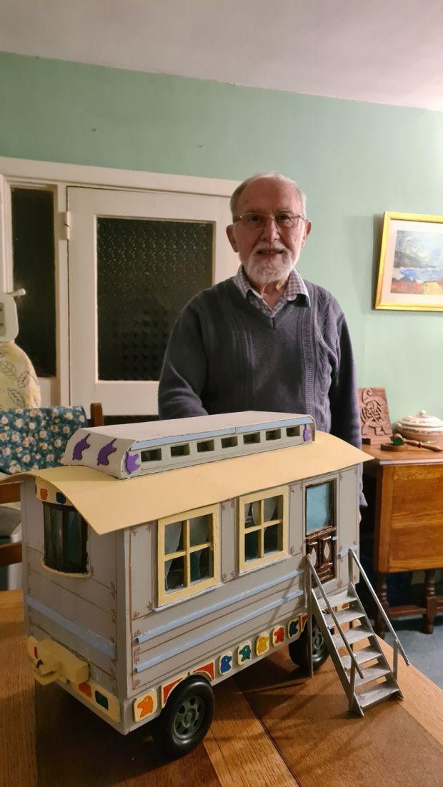 Tony Mahony's Fairground Caravan