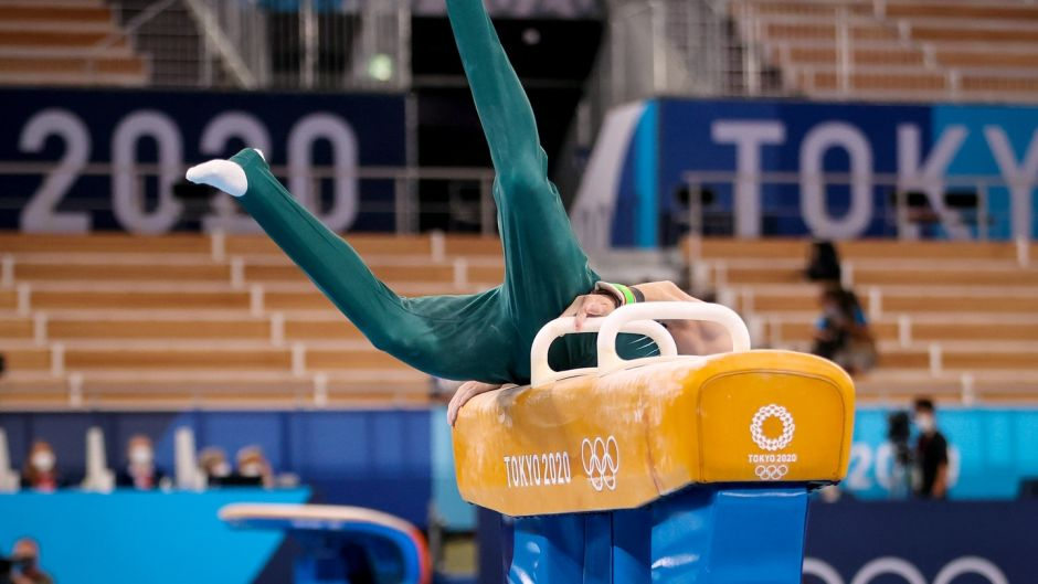 Tokyo 2020: History maker Rhys McClenaghan seventh in pommel horse