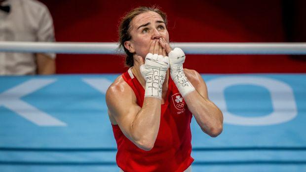 La réaction de Harrington après sa victoire.  Photo : Morgan Tracy/INFO