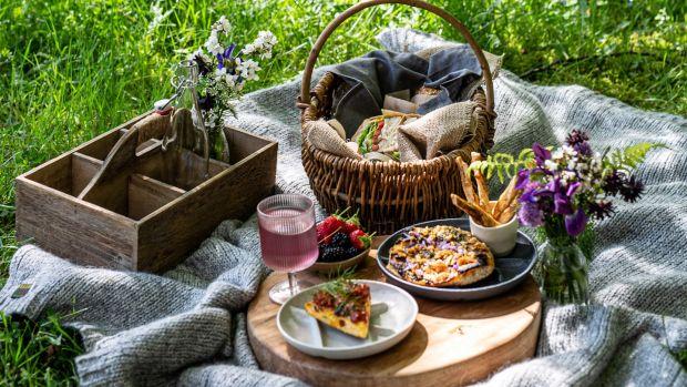 A picnic lunch at The Wicklow Escape Photograph: Liosa McNamara