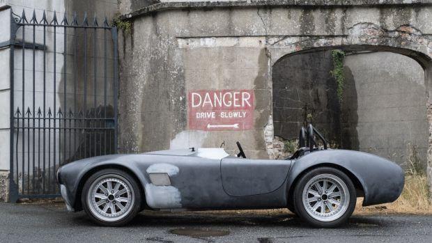 The AVA Electrifi Cobra car at the company HQ in Powerscourt, Co Wicklow. Photograph: Paul Sherwood