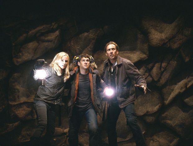 Diane Kruger, Justin Bartha AND Nicolas Cage in 2007's National Treasure: Book of Secrets. Photograph: Robert Zuckerman