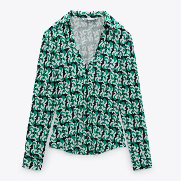 Shirt €39.95 Zara