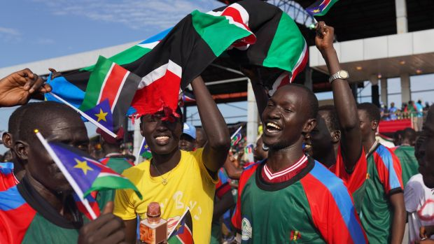 South Sudan celebrated 10 years of independence on July 9th. Photograph: Andreea Campeanu/Getty Images