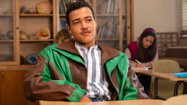 Uli Latukefu as Dwayne Johnson at age 18 in Young Rock