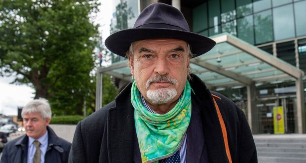 Ian Bailey: 'Hoping and praying that the truth will come out.' Photograph: Collins