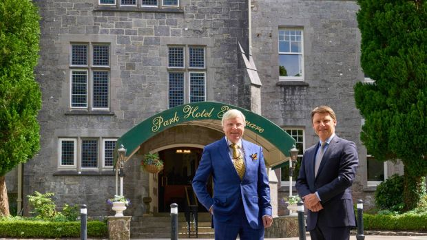 Francis and John Brennan's Park Hotel, five-star hotel of the year.