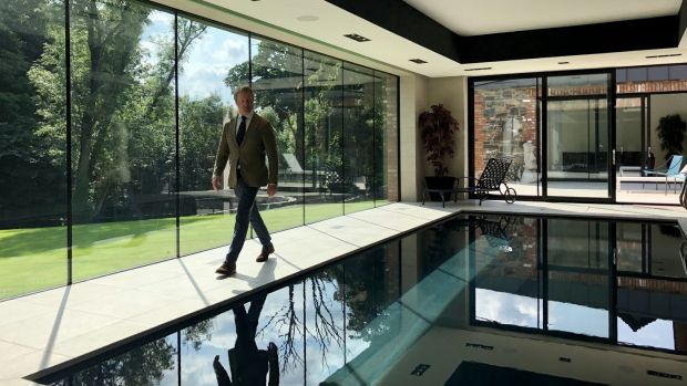 Estate agent David Menary in Selling Ireland's Most Exclusive Homes. Photograph: RTÉ