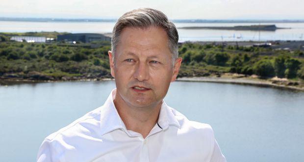 West Pharmaceutical Services chief financial officer  Bernard Birkett. File photograph: Joe O'Shaughnessy