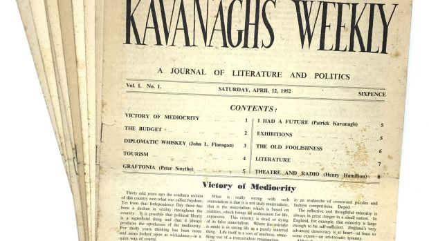 Kavanagh s Weekly, a journal of literature and politics (€2,850)