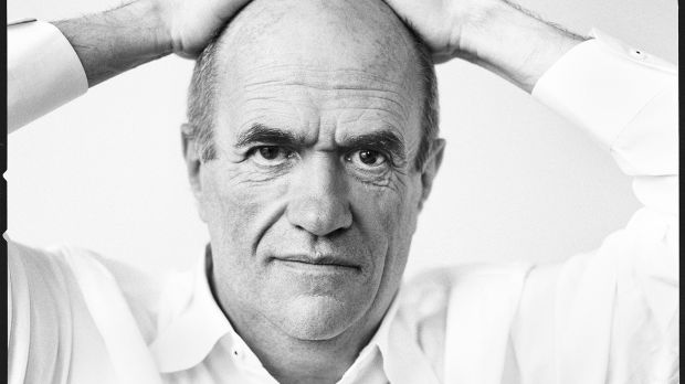 Novelist Colm Toibin wrote the narration to The Man who Painted Ireland. Photograph: Brigitte Lacombe