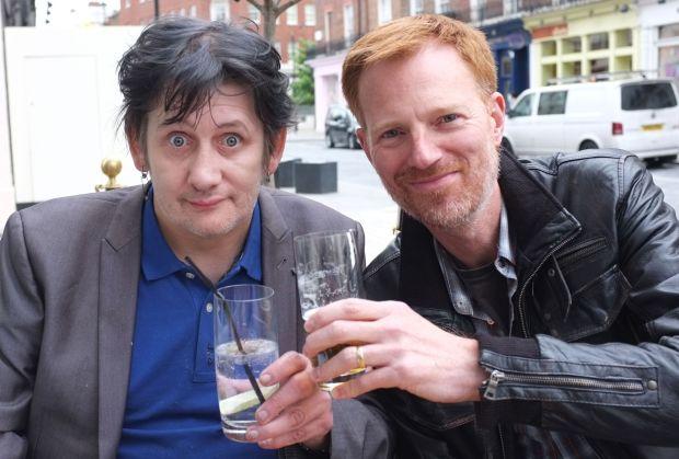 Shane MacGowan with Richard Balls, author of A Furious Devotion