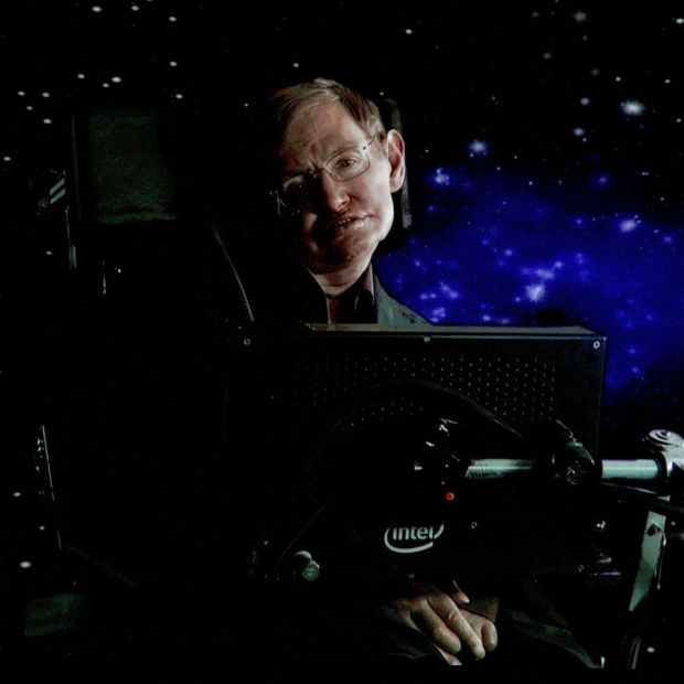 Stephen Hawking, who died in 2018, predicted black-hole behaviour almost five decades ago. Photograph: Frederick M Brown/Getty