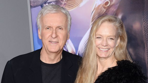 James Cameron and his wife, Suzy Amis