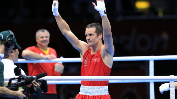O'Neill after defeat to Germany's Stefan Hartel at the 2012 Olympics. Photo: Dan Sheridan/Inpho