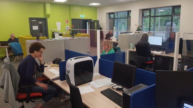 Facilities at Sneem Digital Hub.