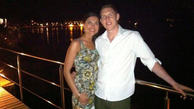 Michaela and John McAreavey on their honeymoon. Photograph: McAreavey family handout/PA Wire