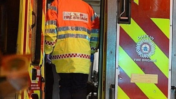 One person hospitalised after fire at Dublin hotel
