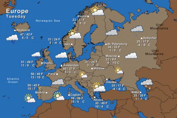 Irish Weather Forecast The Irish Times