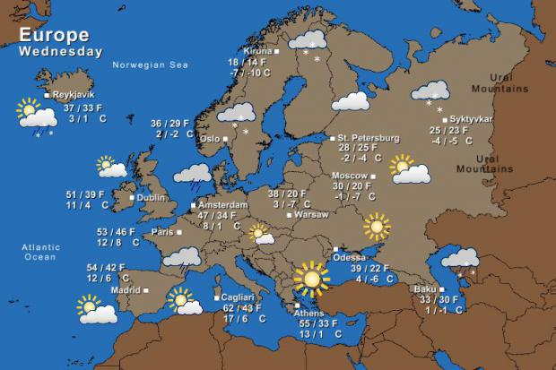 Weather the irish times