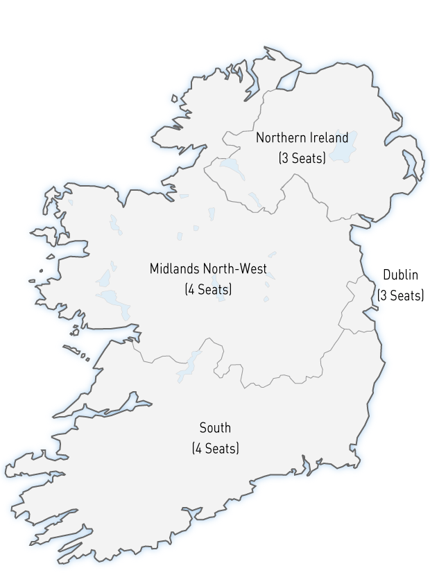 Map Of Ireland Midlands.European Elections The Irish Times